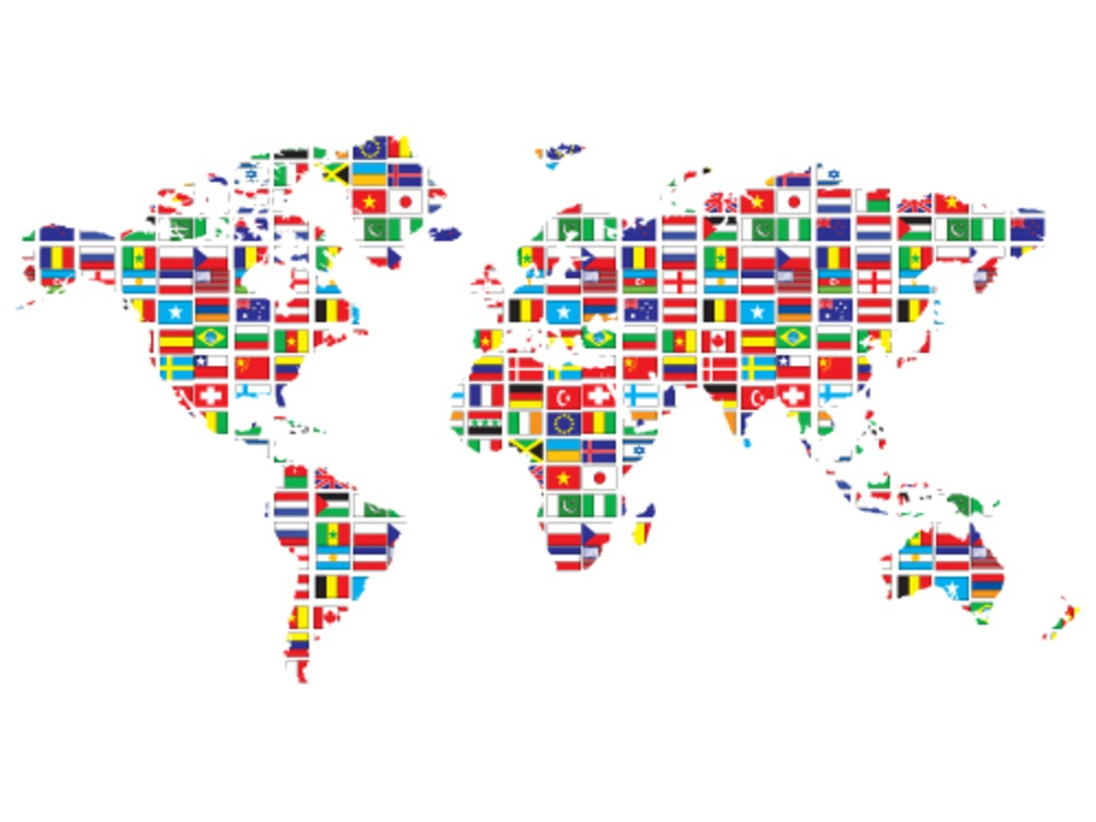 bigstock-world-map-with-flags-16158431